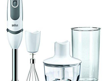 Braun MultiQuick 5 Vario MQ 5035 Sauce Stabmixer, 750 W, 3-teiliges Zubehör-Set, EasyClick System, PowerBell Technologie